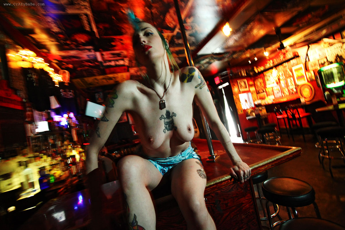 Mayhem at the lucky 13 saloon nude in brooklyn ny