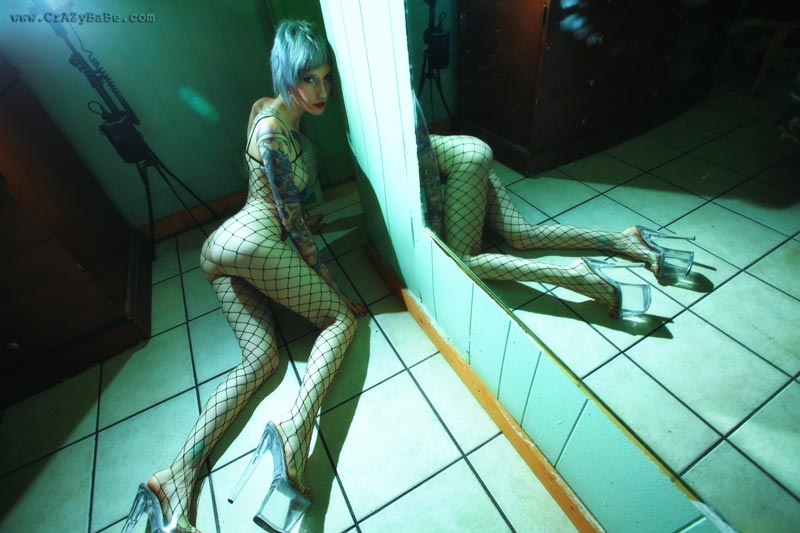 Fishnet Body Suit