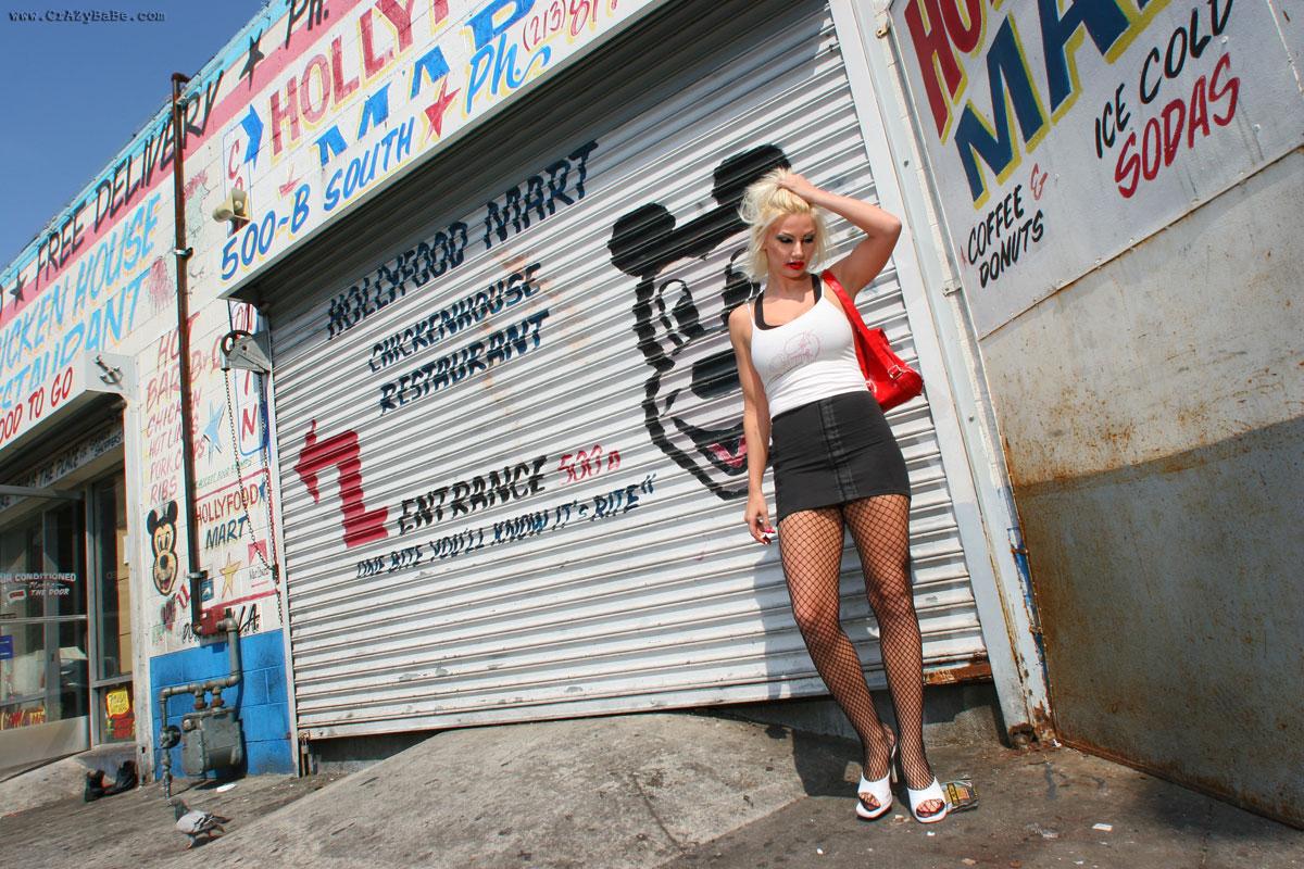 crazybabe   nude street hooker